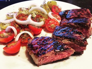 Steak als Proteinquelle