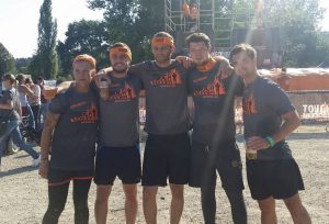 tough mudder 2016 Finish