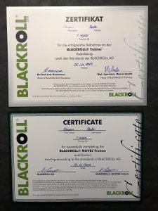 Blackroll Zertifikat
